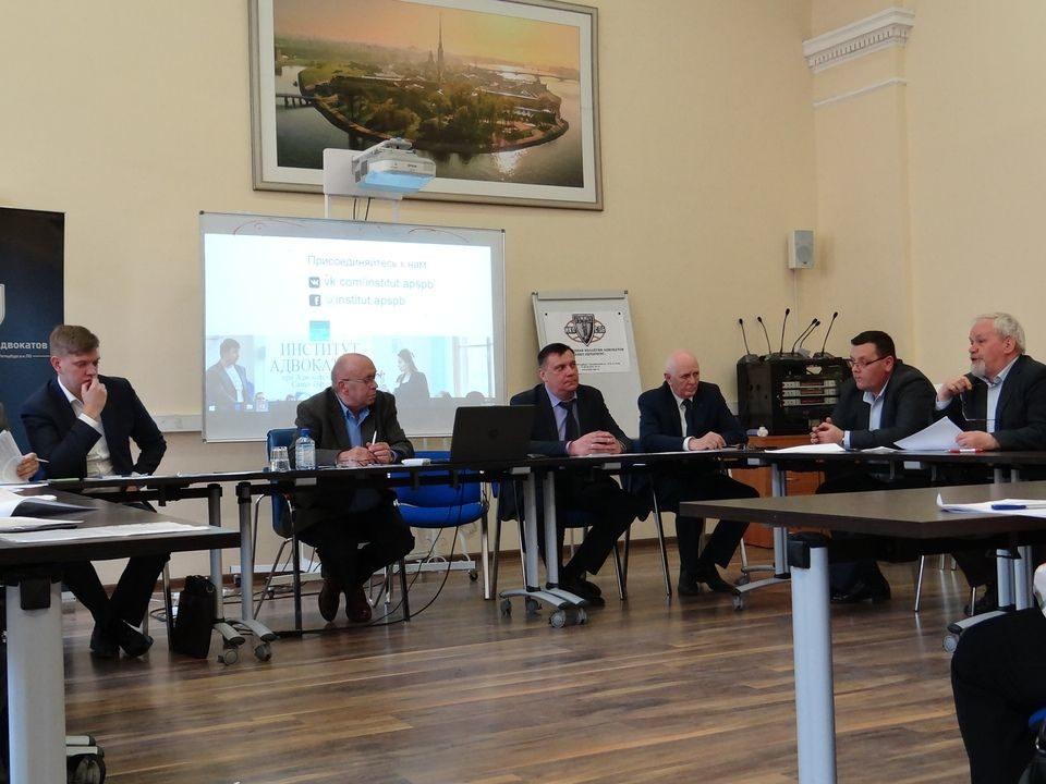 дискуссионный стол о введении ответственности за скандализацию правосудия